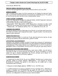 Réunion du 26-06-2020