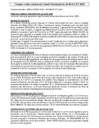 Réunion du 24-07-2020