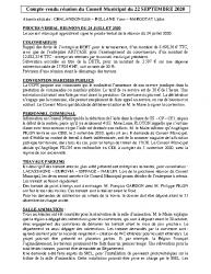 Réunion du 22-09-2020