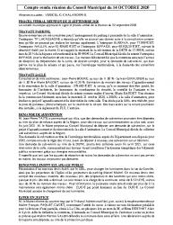 Réunion du 14-10-2020