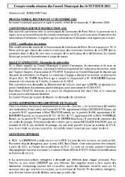 Réunion du 16-02-2021