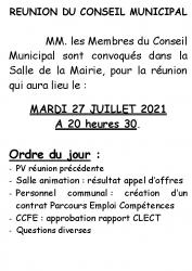 Affiche 27-07-2021