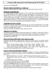 Réunion du 25-05-2021
